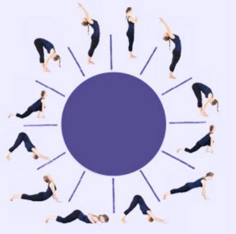 surya namaskar  a morning routine  cell group yoga